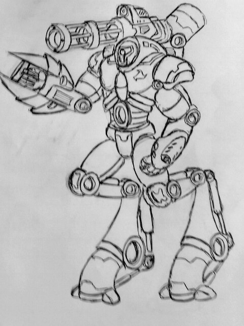 nod elit cyporg commando concept