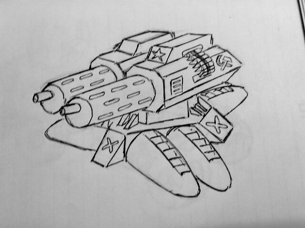 soviet sentry gun concept