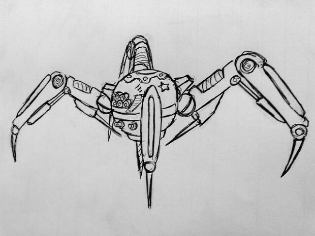 sov terror drone concept