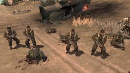 British Commandos raid