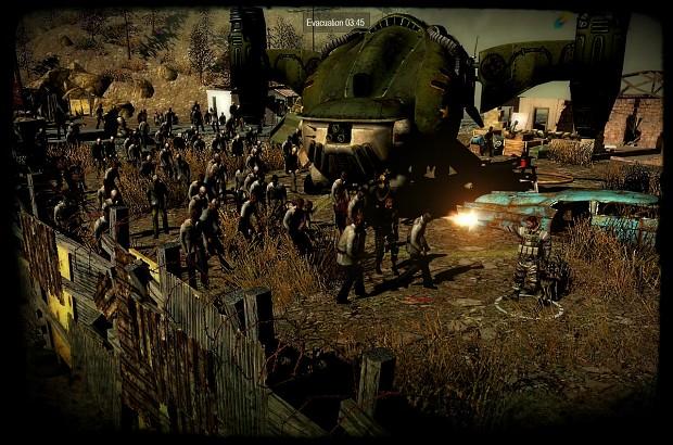 Fallout Teaser Mercenaries Maps Image Resident Evil