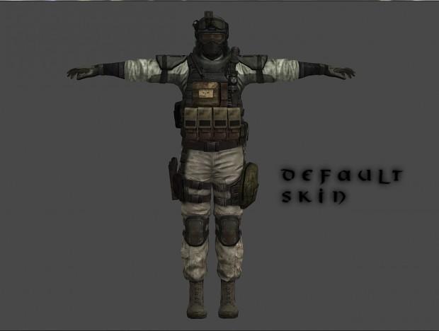 BSAA Operator - Default Skin