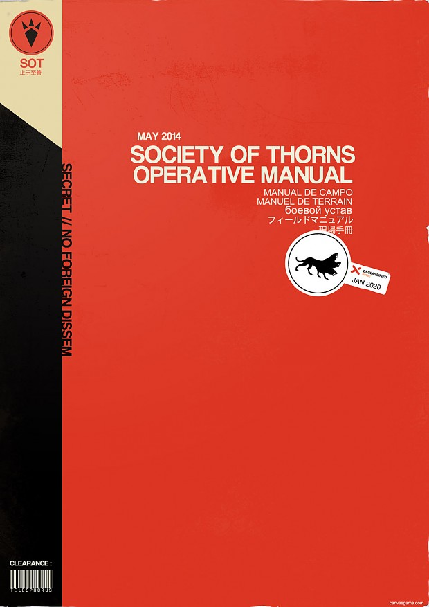 SOT Manual Cover