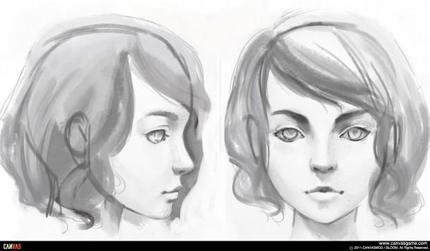Milena Head Study