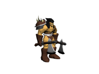 Rexxar Model - Low Poly