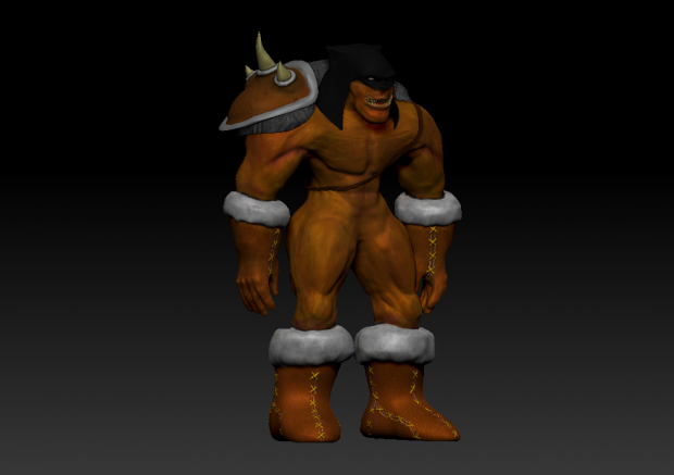 Rexxar Model - High Poly