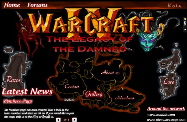 Wc4: Sc2 - Community News #1 - Warcraft: A New Dawn mod for
