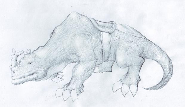 Kodo beast concept #3