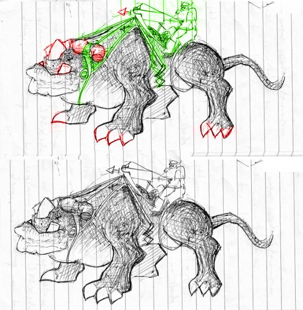 KoDo Beast Concept #2