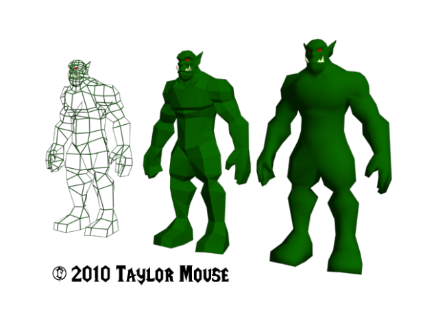 Base Orc Model, Taylor_Mouse