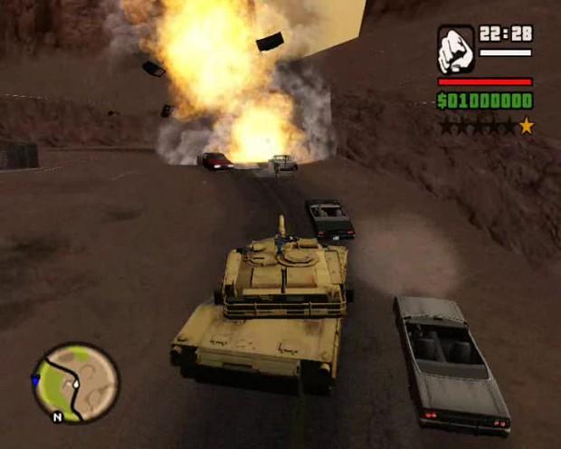 new advanced rhino with miniguns video - modern warfare 2 to san ...