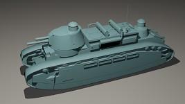 Char 2C model