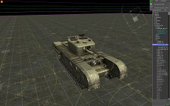 new Churchill Mk.V CS