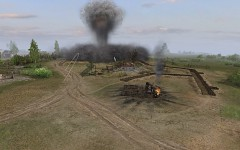 Terrain Effect after a Hit from 600mm Karl Mortar