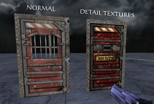 Detail texture checkpoint