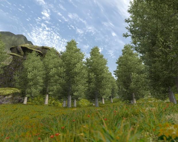 Remade Volcano Area