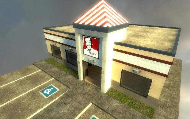 KFC Restaurant image - Modern RP mod for Garry's Mod - Mod DB