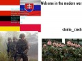 welcome in the modern war(Central Europe)