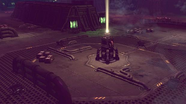 A loading screenshot of Retribution version