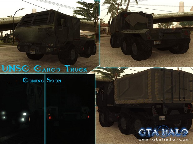 UNSC Cargo Truck by JohnPro