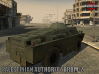 Palestinian Authority BRDM-2