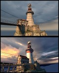 Mission Improbable 1 - Lighthouse comparison