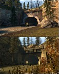Mission Improbable 2 - Tunnel comparison