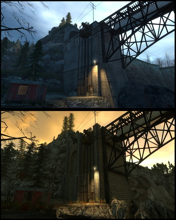 Mission Improbable 2 - Bridge comparison