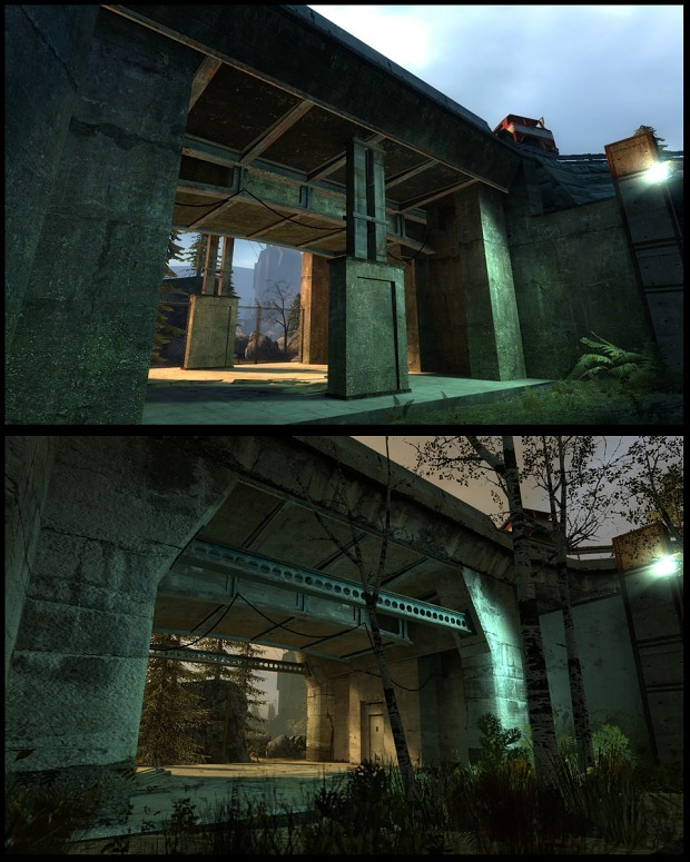 Mission Improbable 2 - Underpass comparison
