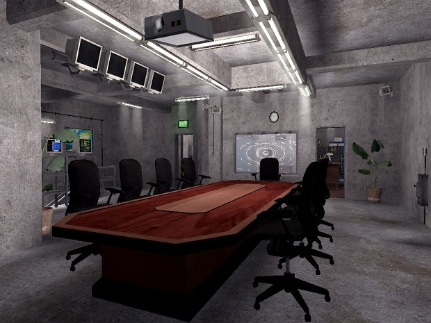 Stargate Command - Briefing room image - Mod DB