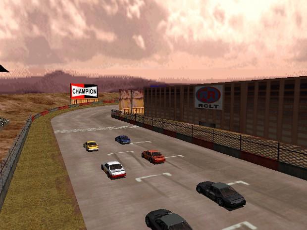 SCA motorplex - Grid raceway with crossover