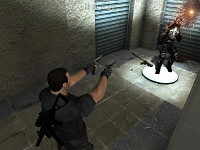 Punisher shooting dual Berettas anim