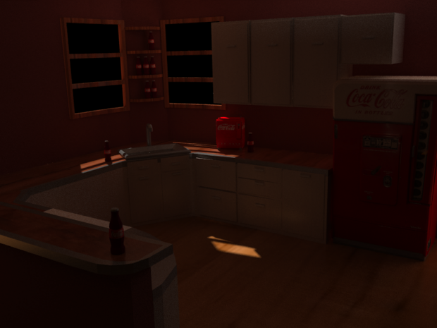 Kitchen Render