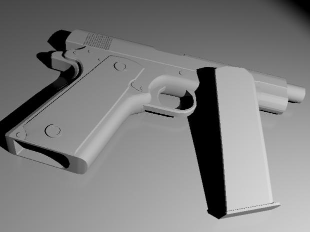M1911 Colt Model redone