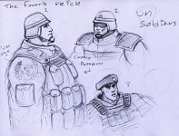 Generic U.N. Soldier Concept By ZitaX W.I.P.