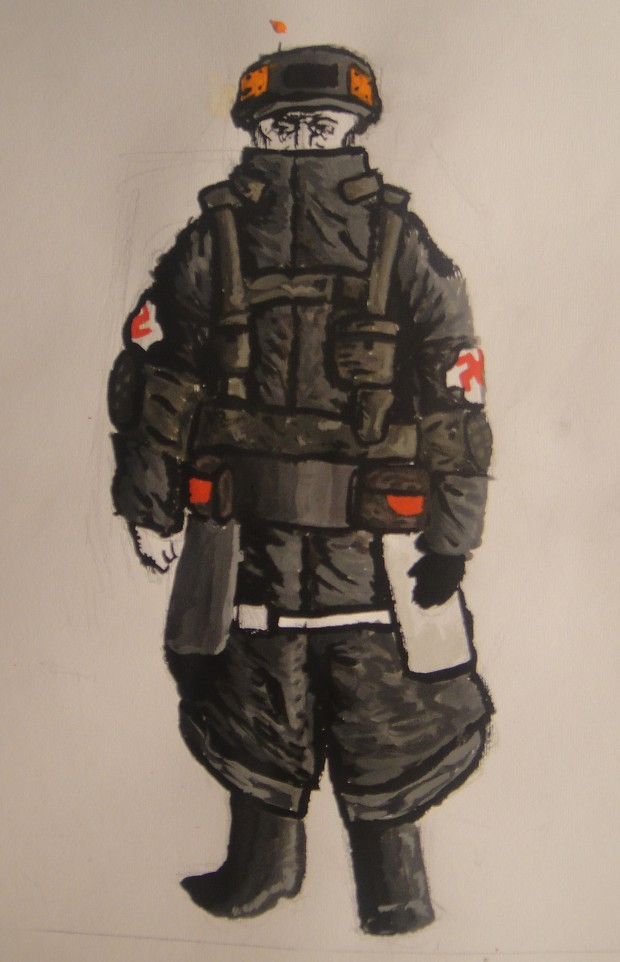 Drawn Future Nazi
