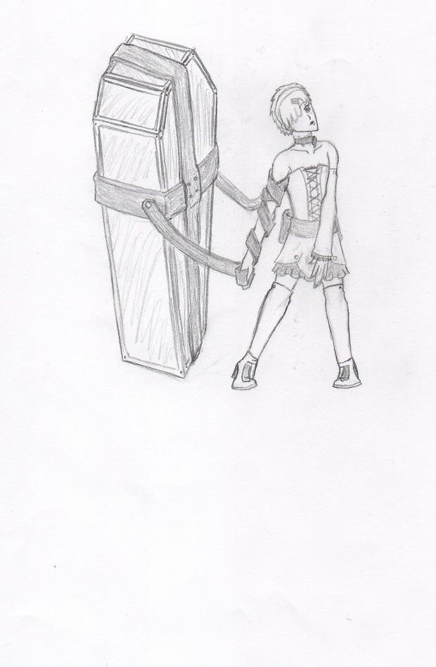 Character Concept Art - Regret