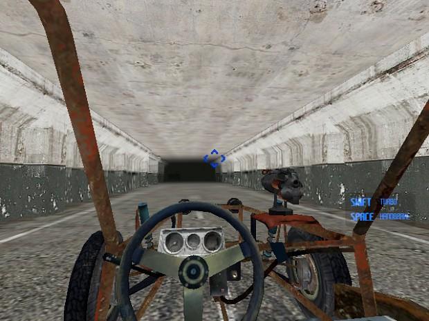 Dark tunnel is not dark......