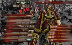 Main menu WIP