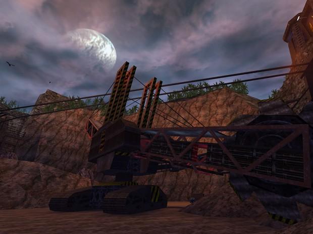 Skaarj mining equipment