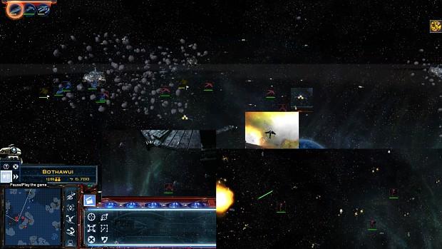 Starfighter engine glows ingame
