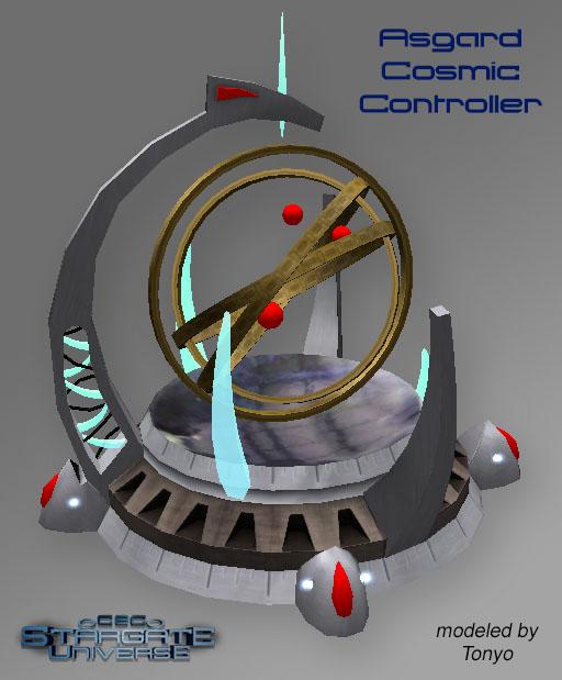Asgard Cosmic Controller 3D model