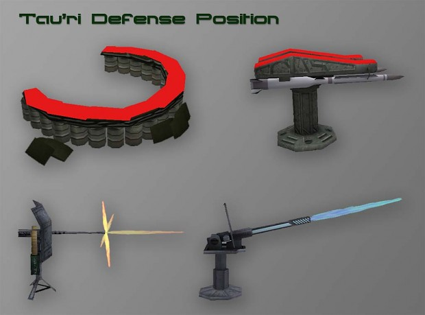 Tau'ri Defense Position