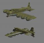 Allied heavy transport plane