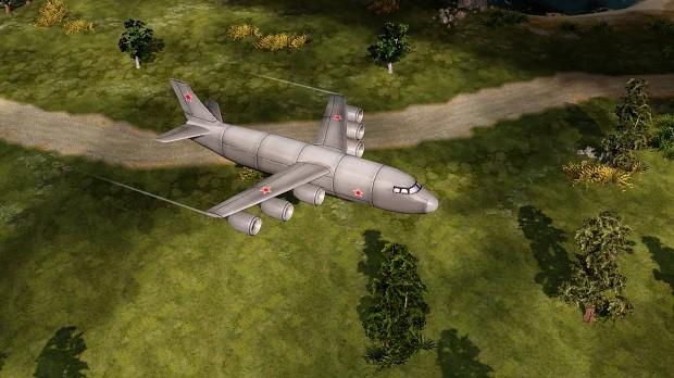 Soviet cargo plane
