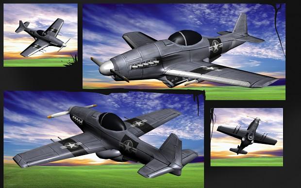 P-51J render