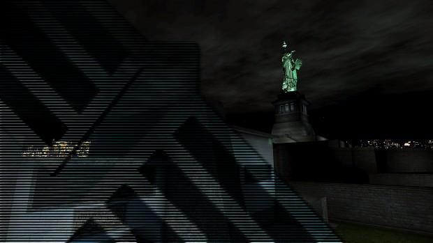 Deus Ex: Nihilum - Wallpaper 01 - Liberty Island