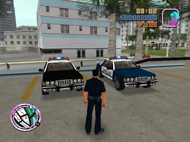 promotional images gta police stories mod for grand theft auto vice city mod db. Black Bedroom Furniture Sets. Home Design Ideas