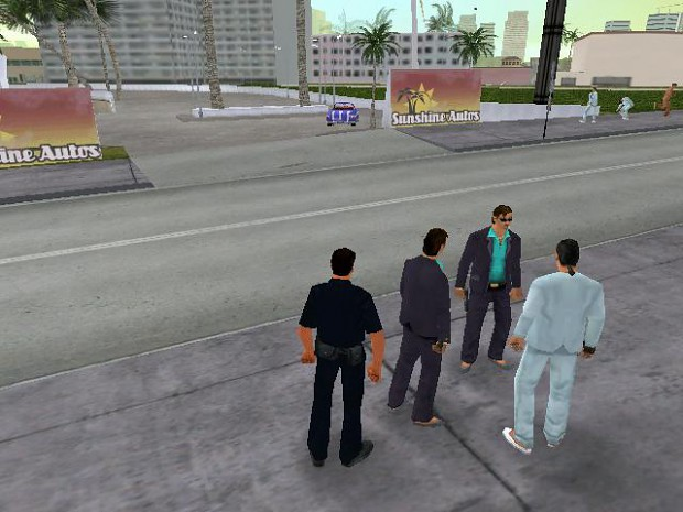 Promotional Images - GTA: Police Stories mod for Grand Theft