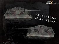 CoD2 Konigstiger concept
